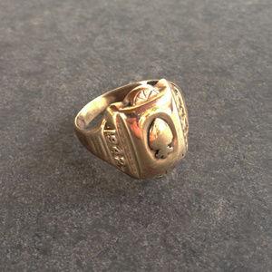 Vintage 1942 Vermeil Class Ring